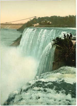 Coté américain des Chutes du Niagara