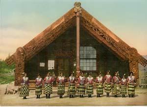 Danseurs Maori àOhinemutu