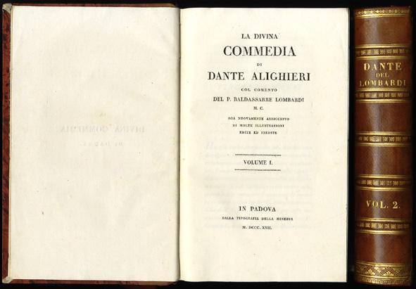 Commedia con vita di Dante