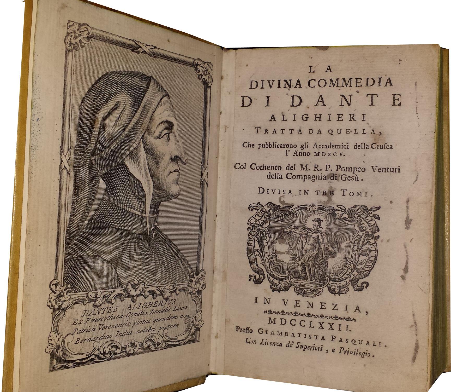 La Commedia tratta dall'opera della Crusca