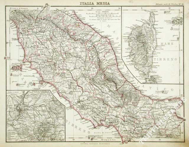 Cartina italia centrale