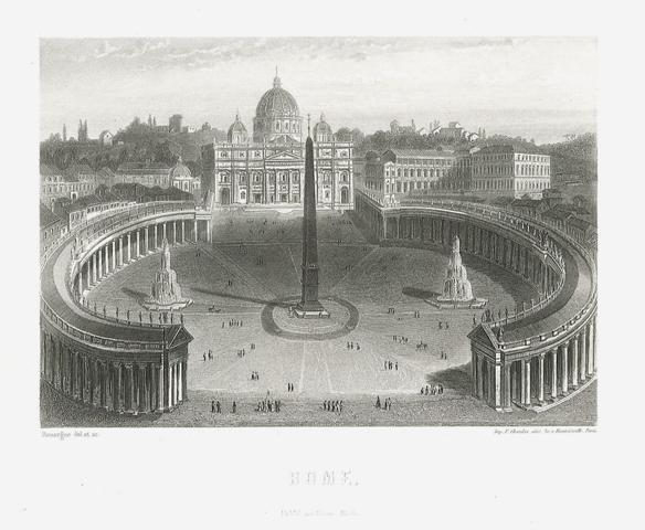 Veduta di piazza San Pietro