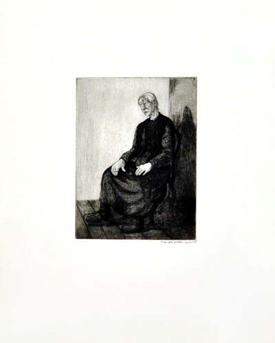 Etching: Untitled