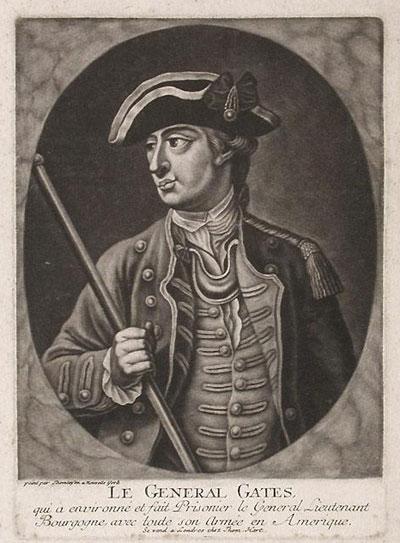 Portrait Art: Le General Gates