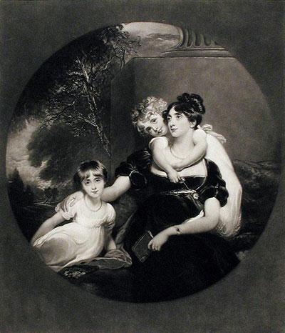 Portrait Art: Lady Grey and Children