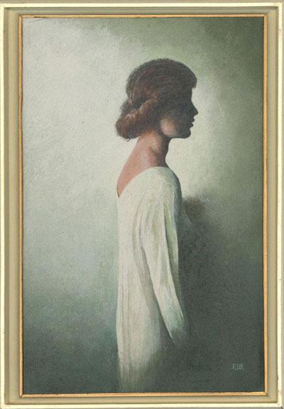 Portrait Art: The White Dress