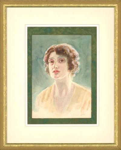Portrait Art: Watercolour Portrait