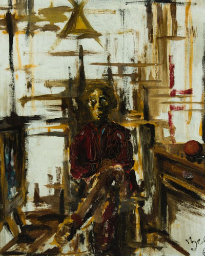 Portrait Art: Seated Figure