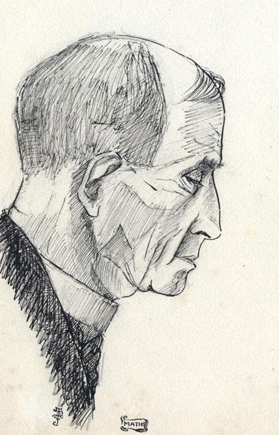 Portrait Art: Pen & Ink Portrait