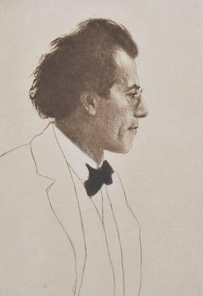 Portrait Art: Portrait of Gustav Mahler