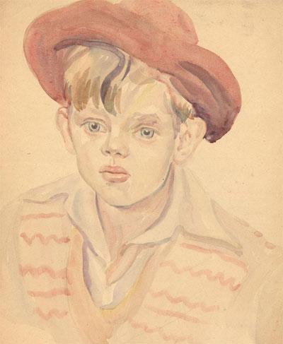 Portrait Art: Portrait of a Boy