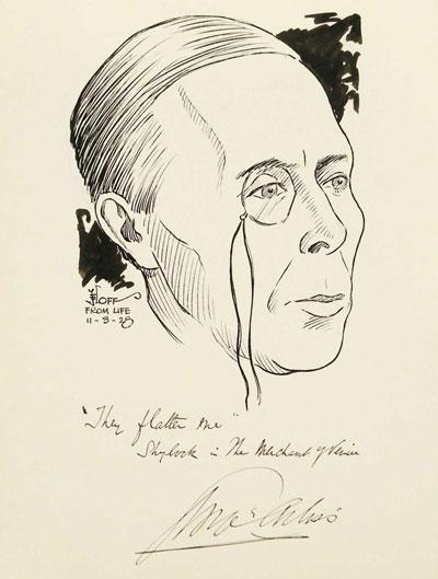 Portrait Art: Portrait of George Arliss