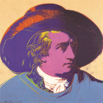 Goethe by Andy Warhol