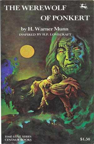 The Werewolf of Ponkert by H. Warner Munn