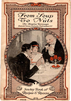 From Soup to Nuts. Sawtay (Sauté) Book of Recipes & Reasons by Regina Kavanagh (1916)