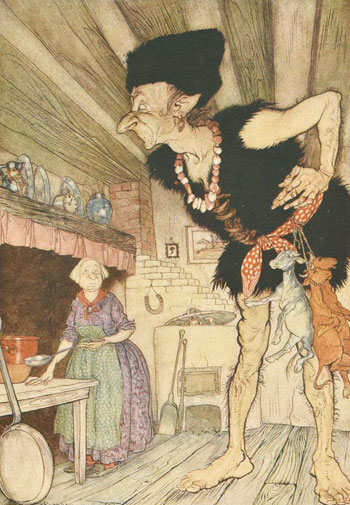 English Fairy Tales illustrated by Arthur Rackham