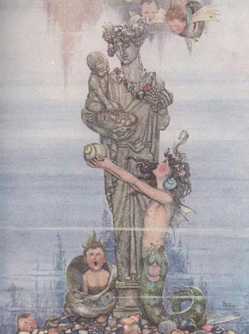 Hans Andersen's Fairy Tales illustrated by Heath Robinson