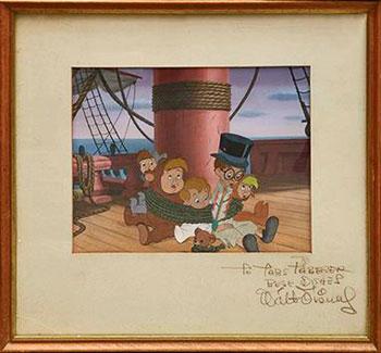 Peter Pan Production Cel by Walt Disney
