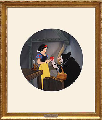The Poison Apple Original Cel Artwork