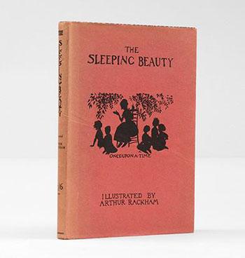 Sleeping Beauty illustrated by Arthur Rackham