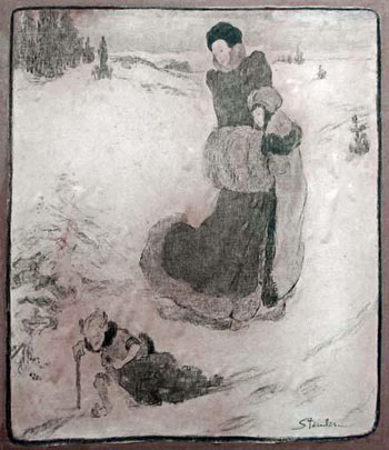 Signed Drawing of The Snow Queen