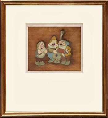 Snow White and the Seven Dwarves Original Cel Artwork