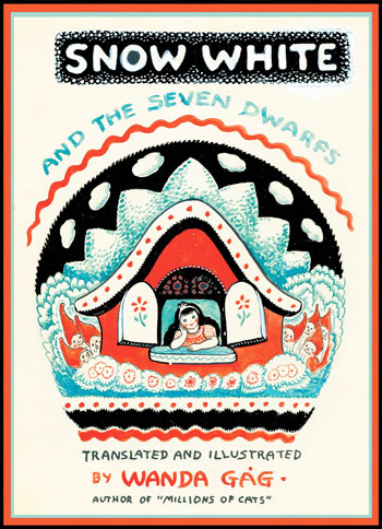 Original Cover Art, Snow White and the Seven Dwarves by Wanda Gag