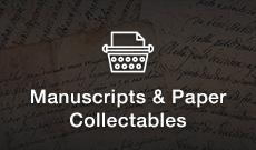 Shop Manuscripts & Paper Collectables