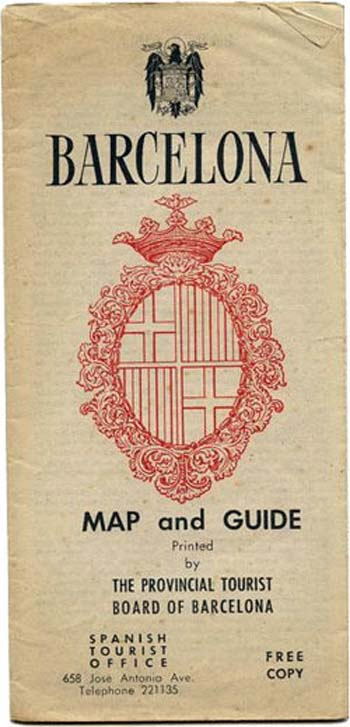 Barcelona Map and Guide