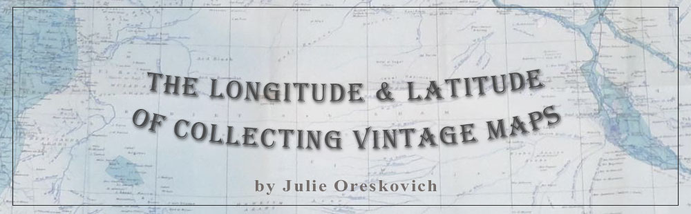 The Latitude & Longitude of Collectable Maps