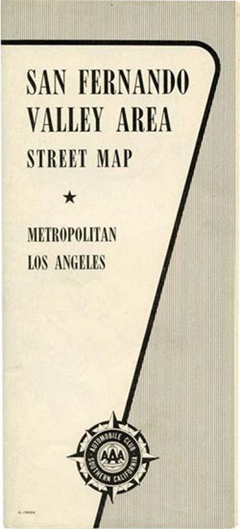 San Fernando Valley Street Map
