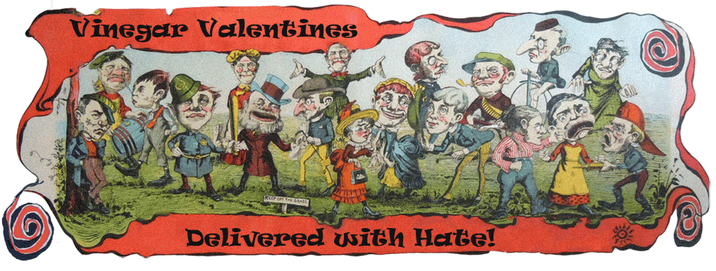 Vinegar Valentines - Delivered with Hate!