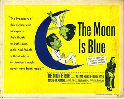 Moon Is Blue - 1953