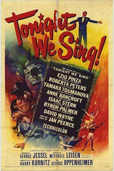 Tonight We Sing - 1953