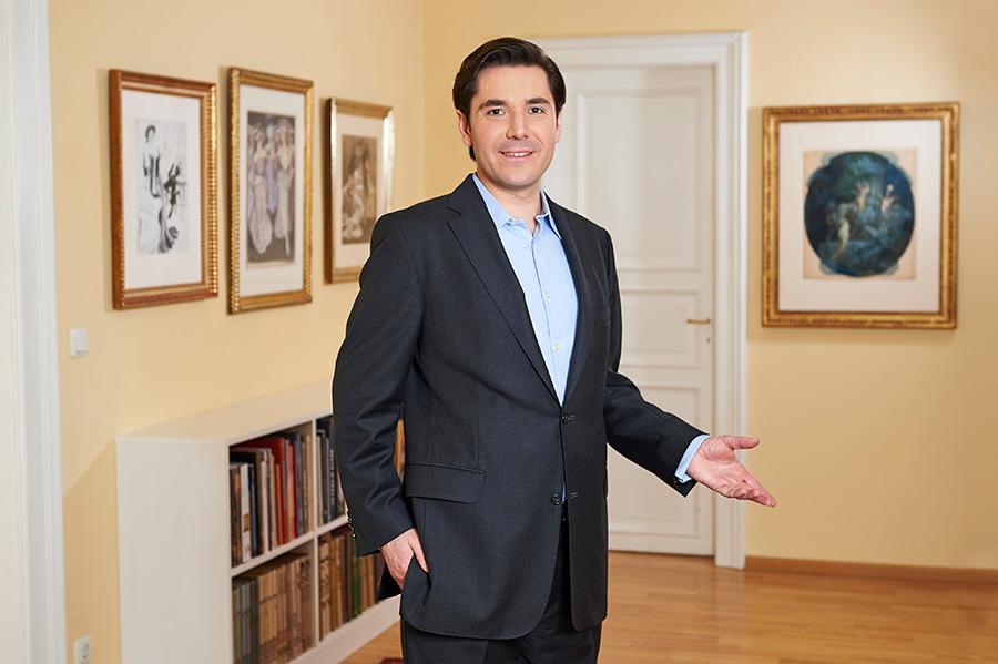 Alexander Kunkel in der Galerie KUNKEL FINE ART