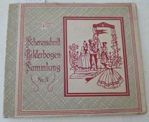 Scherenschnitt-Bilderbogen-Sammlung