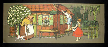 Wandbild Hänsel und Gretel