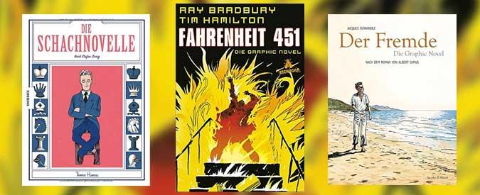 Literaturklassiker als Graphic Novels