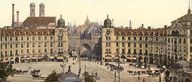 Alte Fotos deutscher Städte