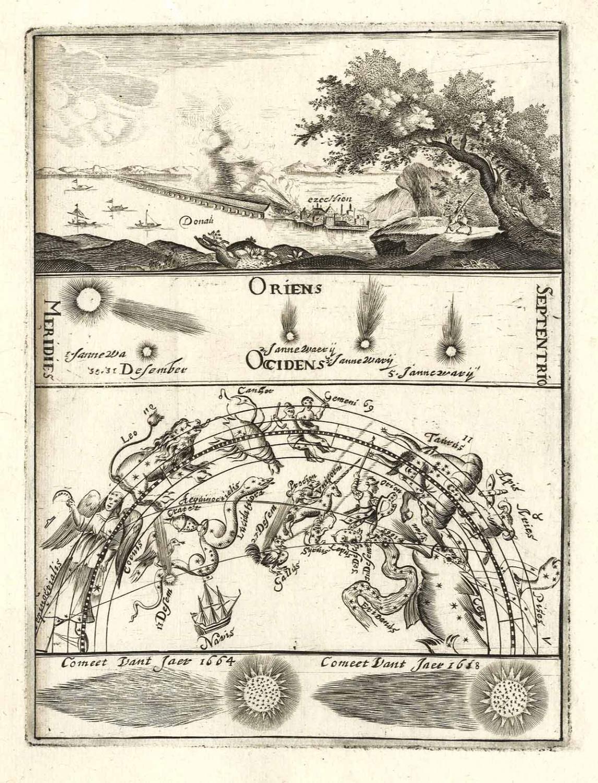 Kupferstich aus Hollandse Mercurius b. Pieter Casteleijn in Haarlem