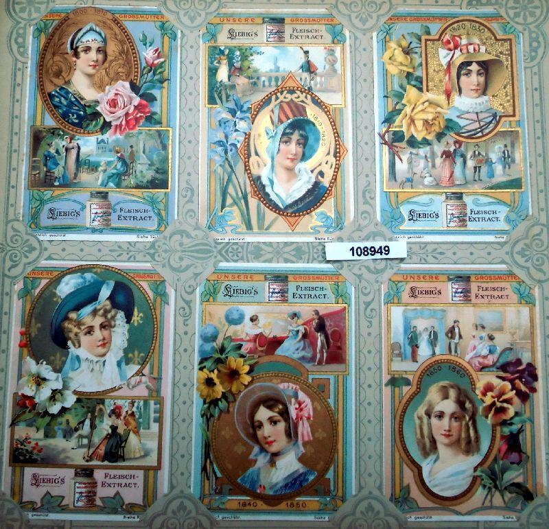 Liebig Sammelbilder Unsere Grossmütter