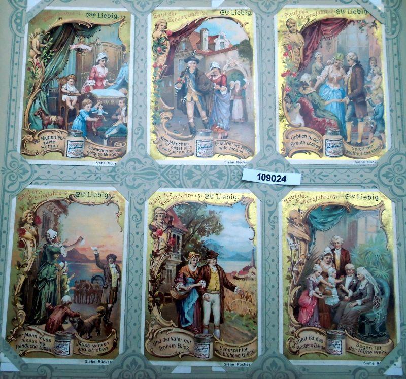 Liebig Sammelbilder Lauf der Lebensjahre (nach Schiller`s Glocke)
