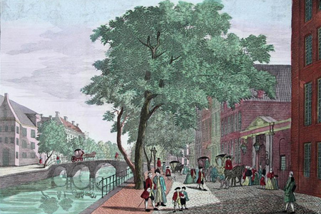 Guckkastenblätter Amsterdam