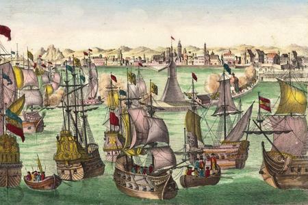 Guckkastenblätter  Schiffe