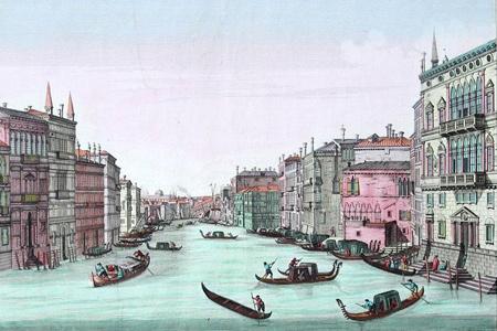 Guckkastenblätter Venedig